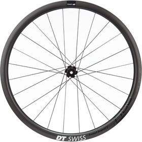 """DT Swiss PRC 1400 Spline 35 Rear Wheel 28"""" Carbon CL 142/12mm TA Shimano, black"""